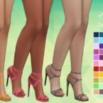 Aveira's Sims 4, Madlen's Onix Shoes – Recolor 66 Colors …