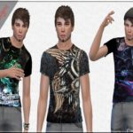 Charmy Sims Portfolio's Men's Conceitual Tees by Designs 01