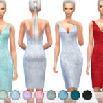 ekinege's Beaded Silk Dress