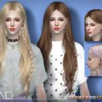 S-Club's sclub ts4 hair Anna braid