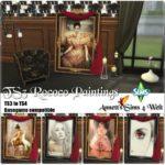 TS3 to TS4 Rococo Paintings