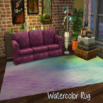 Watercolor Rug – ChiLLis Sims