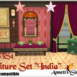 "TS3 to TS4 Conversion – Furniture Set ""India"""