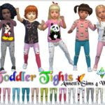 "Toddlers Tights ""Cute"""