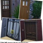 Around the Sims 4 | Custom Content Download | Door bells
