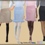 bukovka's Skirt & Frill