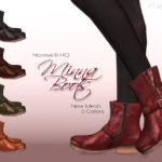 Ms Blue's Minna Boots Normal + HQ