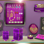 jomsims' Display and jewelry set