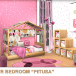 "Toddler Bedroom ""Pitusa"". Sims 4 Custom Content. ~ PqSim4"