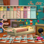 "Soon… or tomorrow…a bed for toddler in ""In the… – Lin' & Sims"