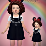 Jennisims: Downloads sims 4:Accessory Toddlers Minnie Mouse Ears