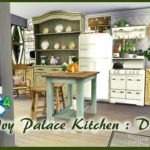 The Sims 4 : Ivy Palace Kitchen : Download – YouTube
