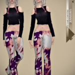 Jennisims: Downloads sims 4:Base Game compatible Tops and Jeans