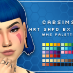 heart shaped box hair in the wms palette