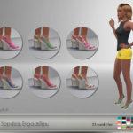 Sandals Espadrilles – 25 swatches – new mesh (EA… – E L F D O R