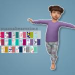 Mama Bear's SimsLittle Girl's Pajama Set