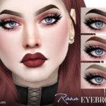 Pralinesims' Rana Eyebrows N115