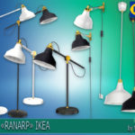 "Corporation ""SimsStroy"": The Sims 4. Lamps ""RANARP"" IKEA."