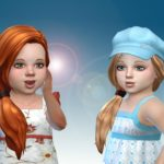 Side Pony Hairstyle for Toddlers – My Stuff