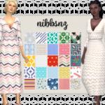 NIBBSNZ – A Rusty Wrap Dress 25 recolours of Rusty's wrap…