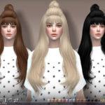 S-Club's sclub ts4 hair Half Bun n27A