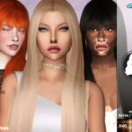 Redhead Sims CC | TsminhSims_S4 Hair 56 Rayza – 2RECOLOR Recolor …