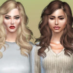Sharareh's Skysims'187 hair retexture