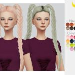 Hair Retexture 64 – LeahLillith