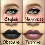 Just One Collection – (Lipstick and Eyeshadow) – TRILUNA Makeup