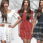 Sims House's Dress Alice