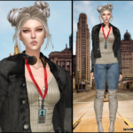 Jennisims: Downloads sims 4:Accessory Base Game compatible females and males