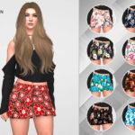 remaron's Skirt floral for women