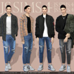 [JS SIMS 4] Balance Ripped Jeans @ JS SIMS :: 痞客邦 ::