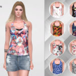 remaron's Floral shirt for women
