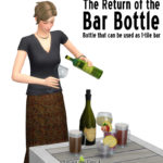 Around the Sims 4 | Custom Content Download | Bottle Bar